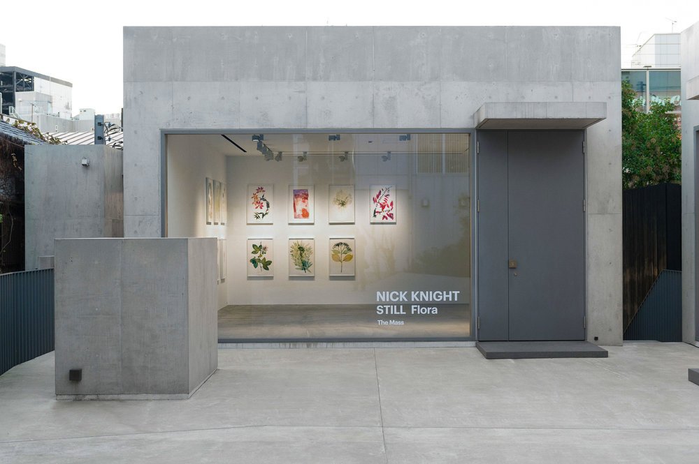 Nick Knight 'Still' exhibition at The Mass, Tokyo, 2018