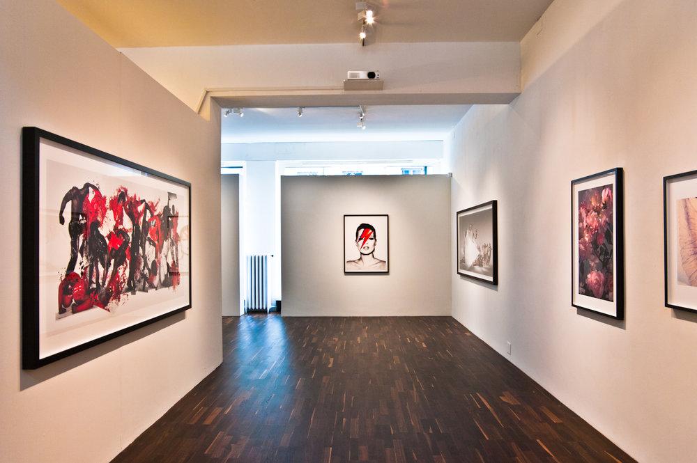 """""""Nick Knight"""" exhibition at Christophe Guye Galerie, Zurich, Switzerland, 2016"""