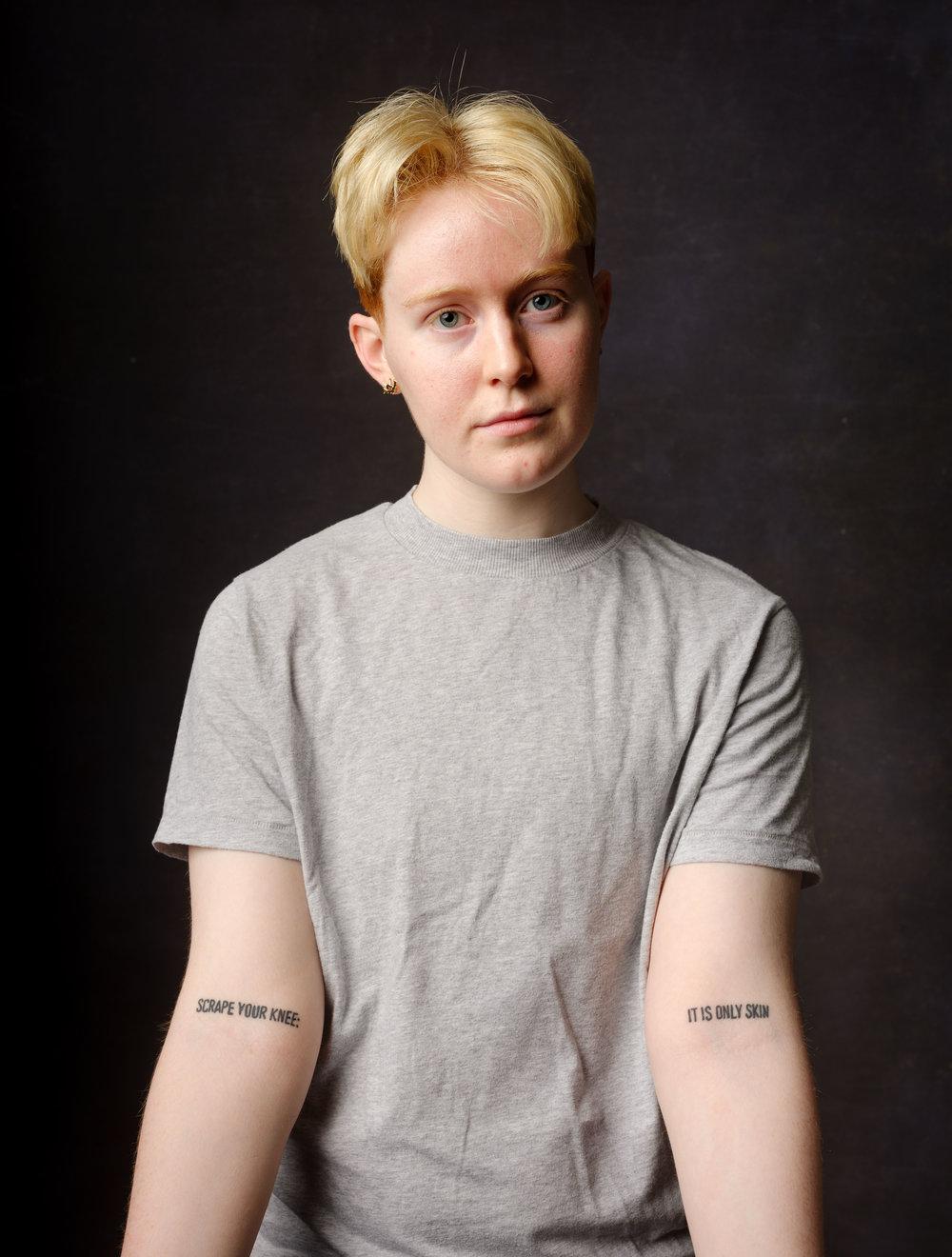 Éidín Moyne, trans rights activist.