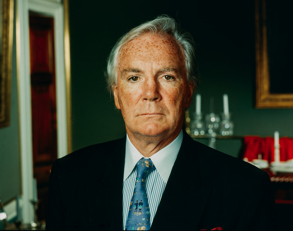 Dr. Tony O'Reilly, CEO and Chairman of the H.J. Heinz Company.