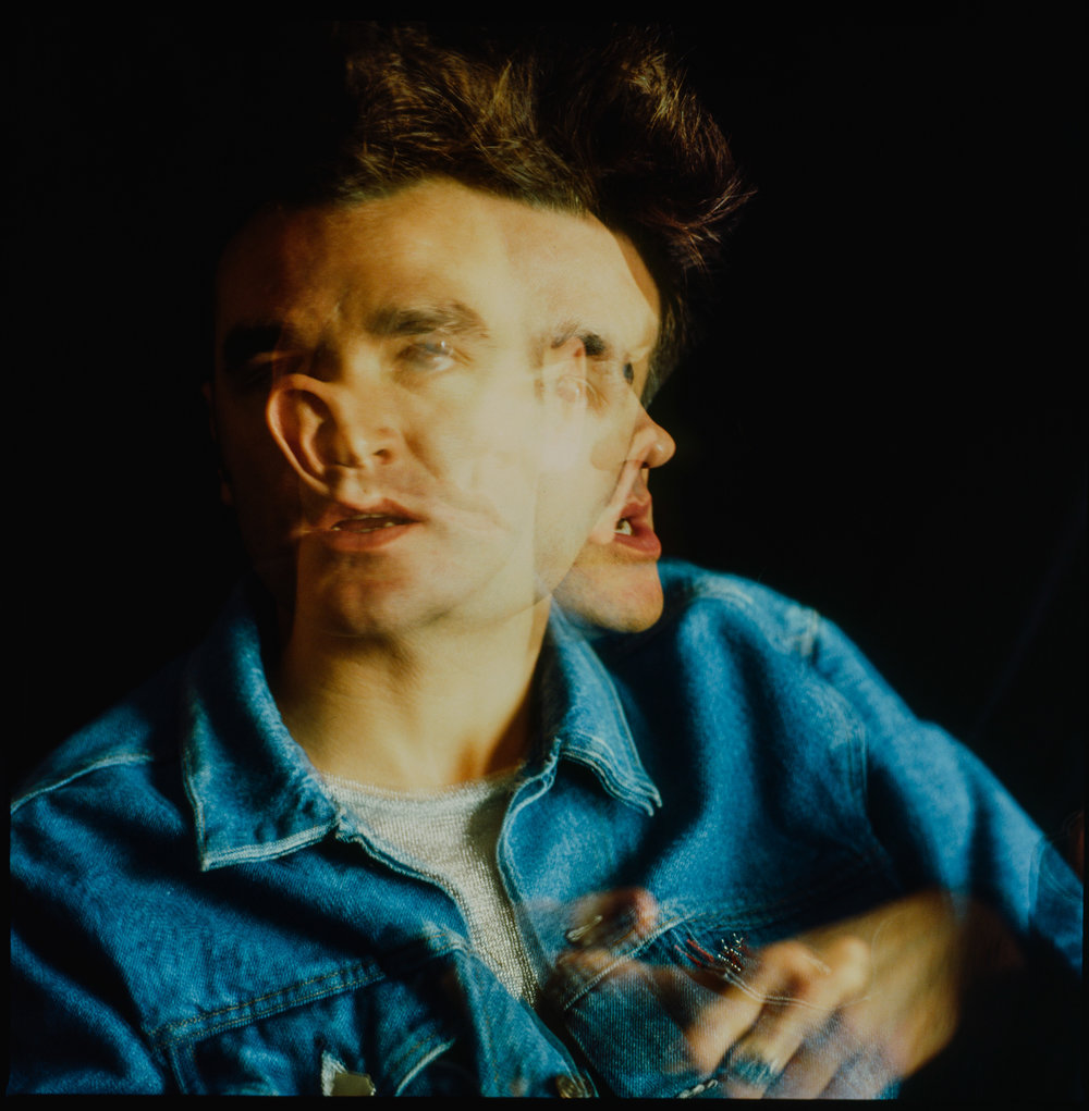 Morrissey, musician.