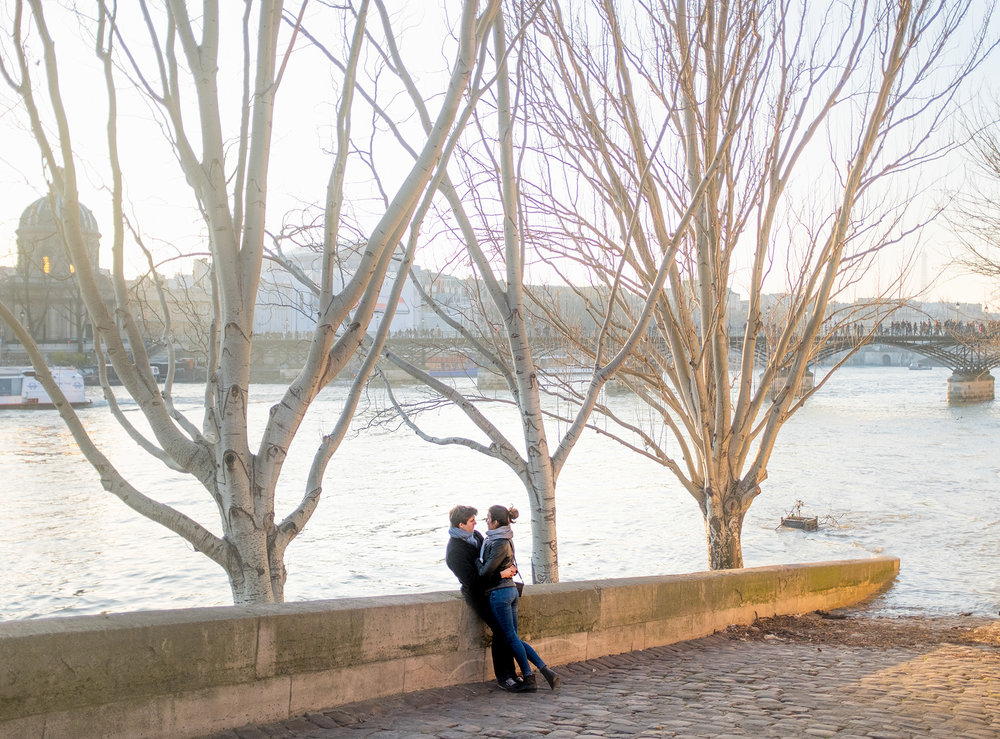 A moment by the Seine.