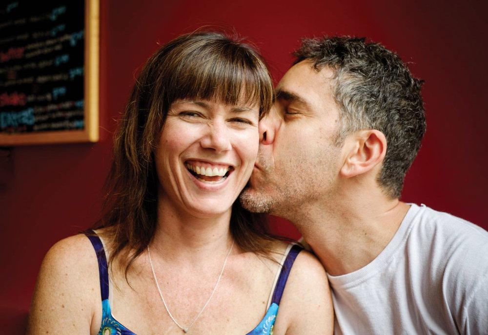 Jenn and Seth inNew Paltz, New York