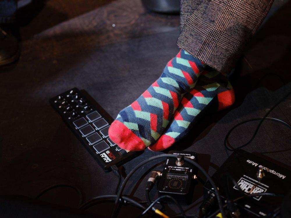 Caoimhín's socks.