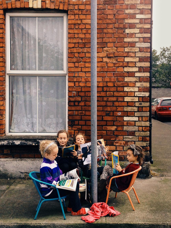 Neighbourhood reading club