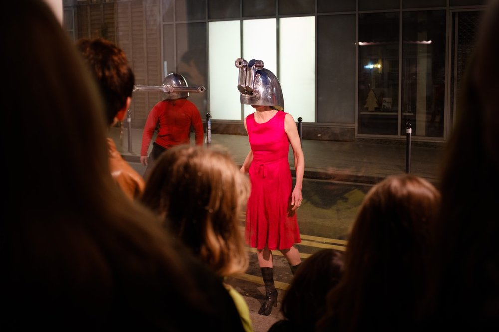 Launch of Cleary Connolly 's School of Looking with their Meta-perceptual Helmets