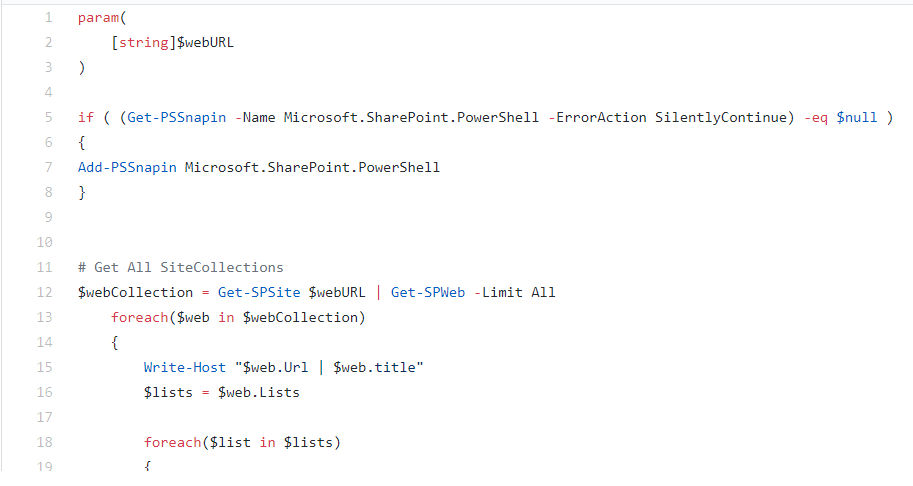 PowerShell: Remove Lists by Title — SPROCKS