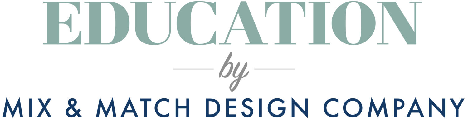 Education by Mix & Match Design Company