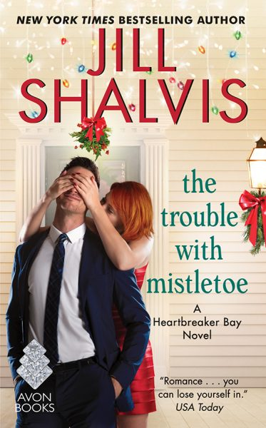 Jill Shalvis The Trouble With Mistletoe.jpg