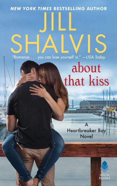 Jill Shalvis About That Kiss.jpg