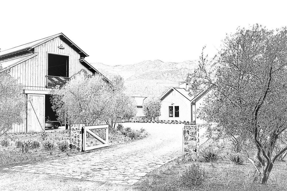 modern ranch - julian, california