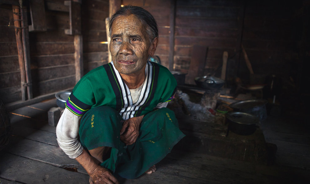 Tattooed Faces & Fading Traditions - The Women of Chin State, Burma