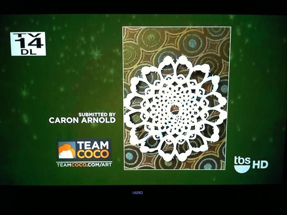 Team Coco Snowflake that Became a Bumper for Conan on TBS