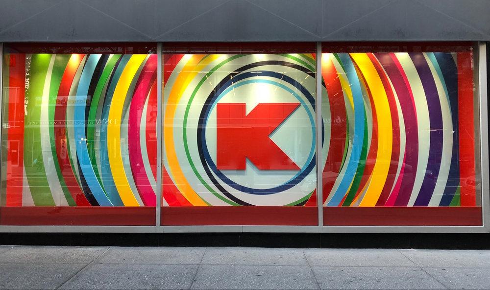 Kmart NYC Penn Station Animated Storefront Windows