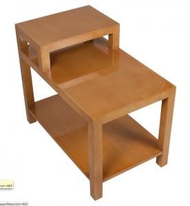 Robsjohn Gibbings mahogany stepped side table