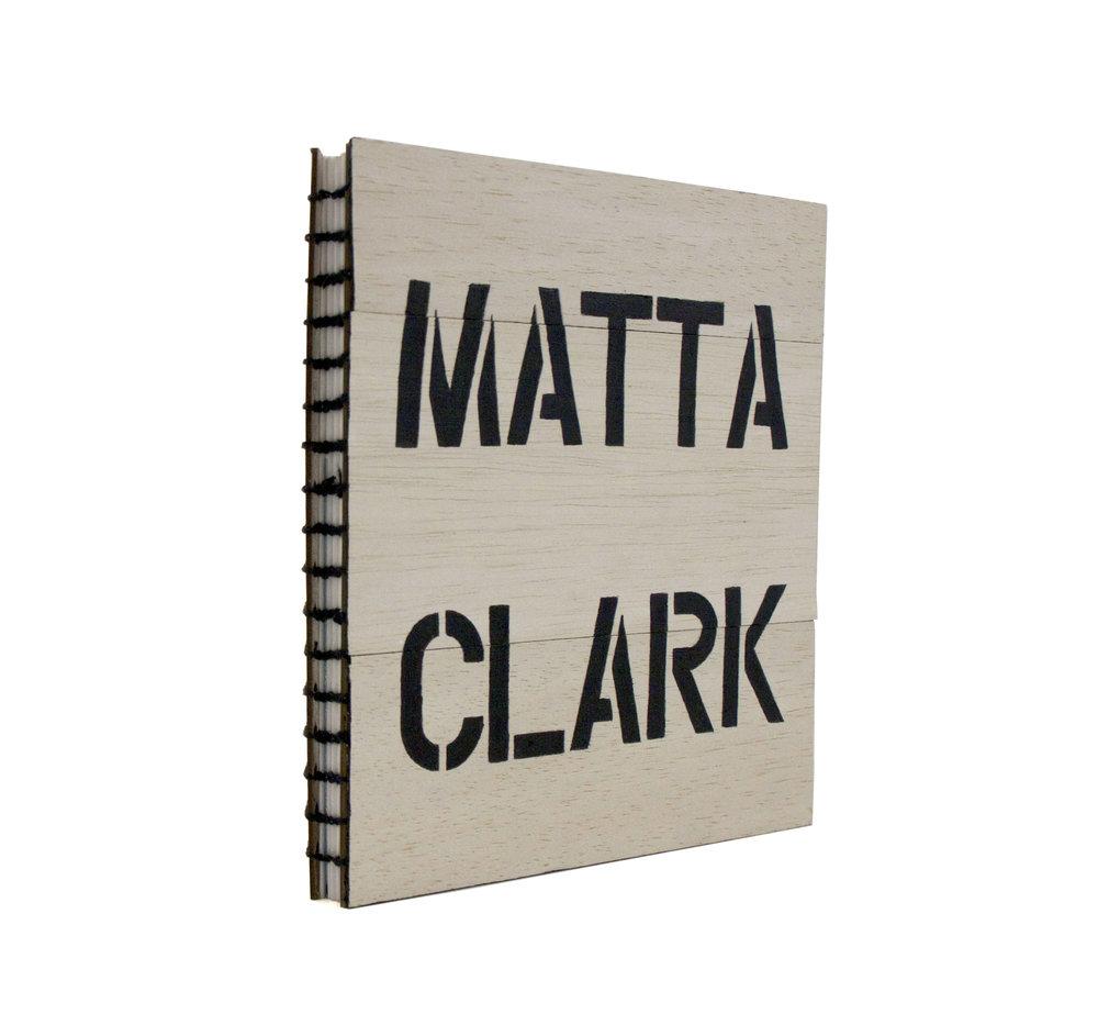 Matta Clark Artists Book