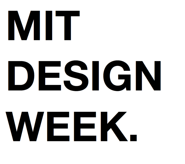 MIT Design Week