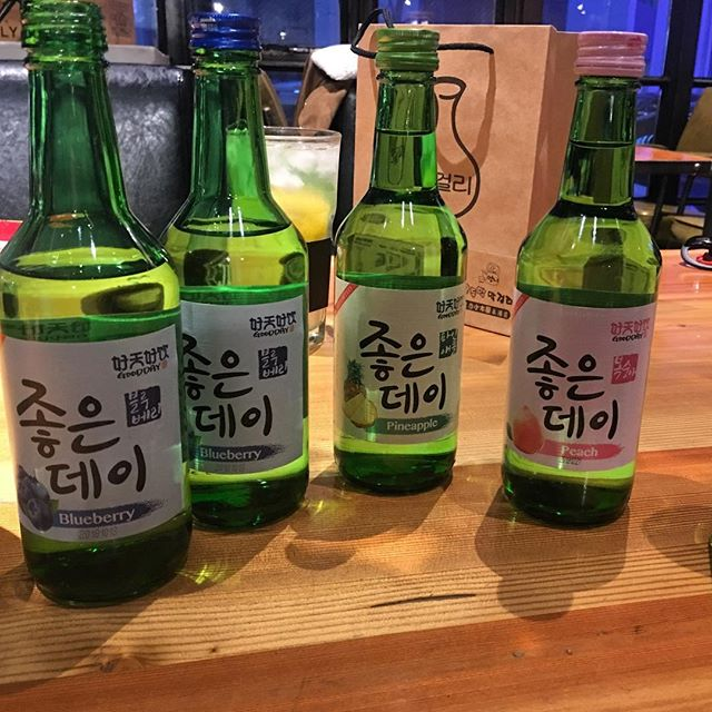Some dangerously delicious (and potent) #korean #soju in #Daqing #China. #drinkingculture #worldtravel #travel
