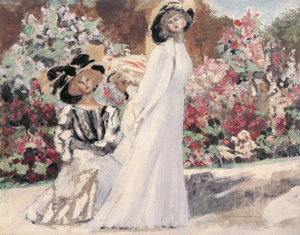 Les Tristes, c 1906. Huile sur toile, 48 x 61 cm. Collection privée, New-York.