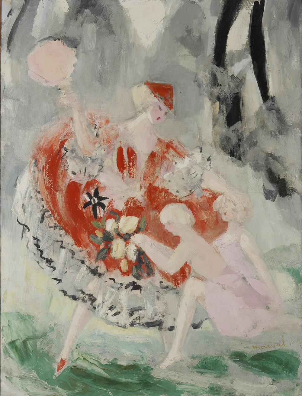 Cendrillon après le Bal, Jacqueline Marval. Huile sur toile. Collection privée, Paris.