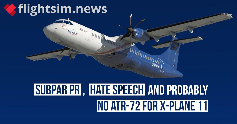 The Milviz XPlane / ATR Debacle: The Plot Thickens    — Welcome to FL350