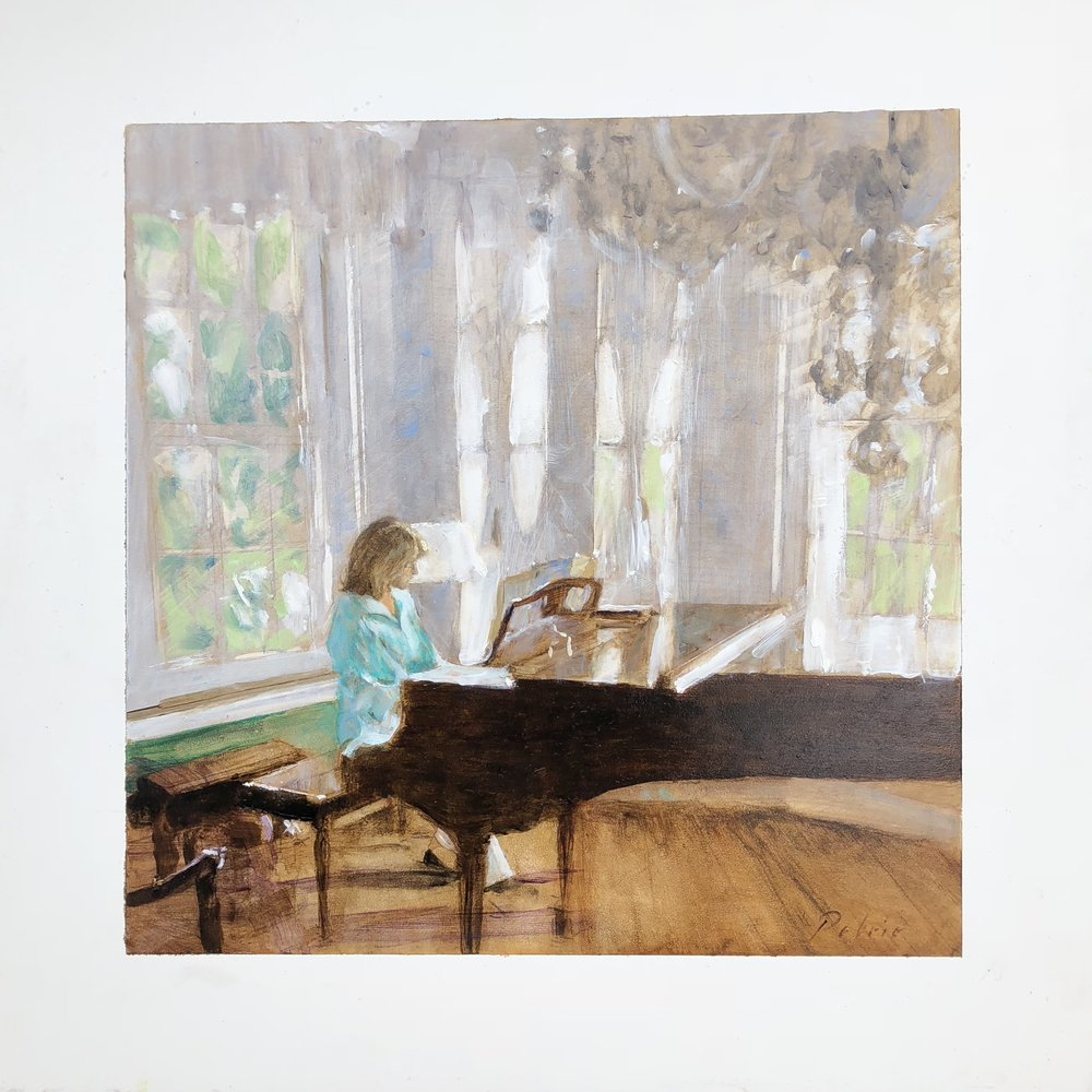 Friend at the Piano