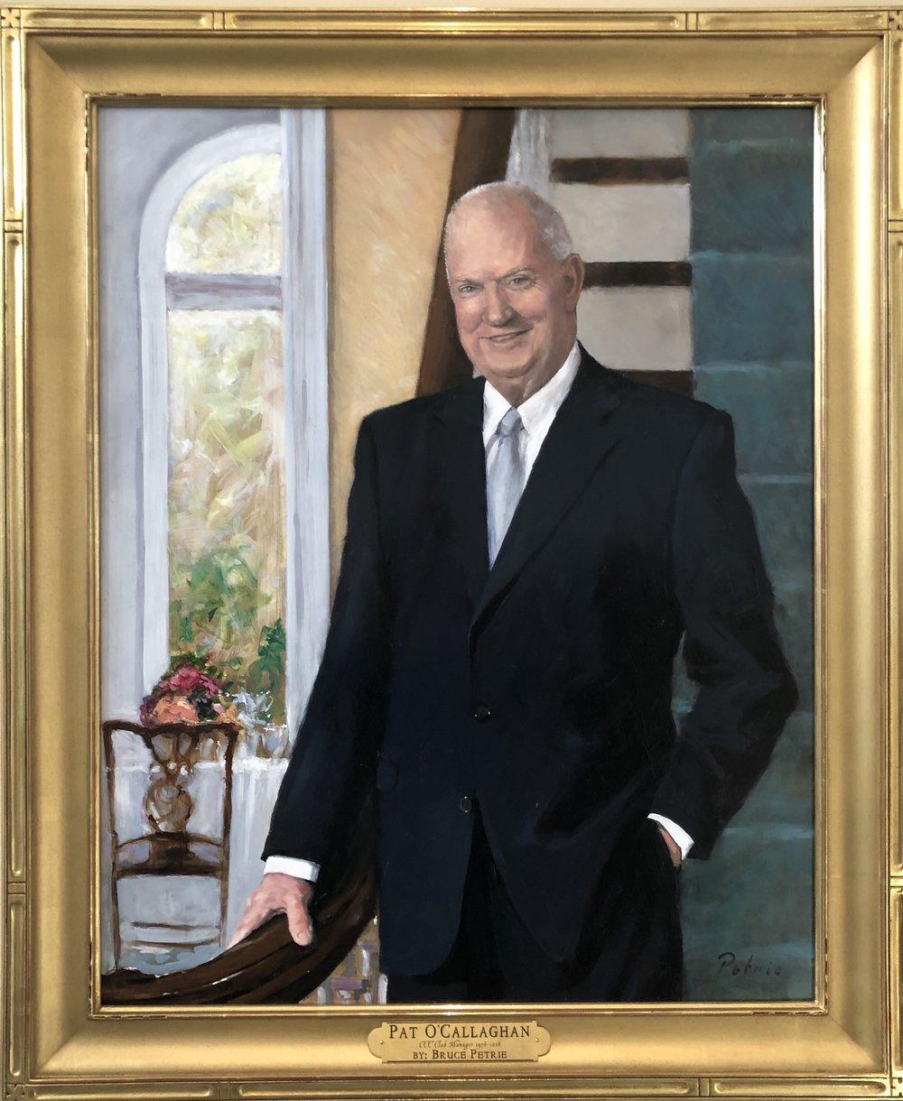 Portrait of Pat O.