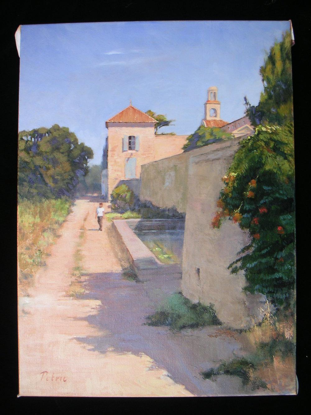 Monastery Near Venasque, Provence