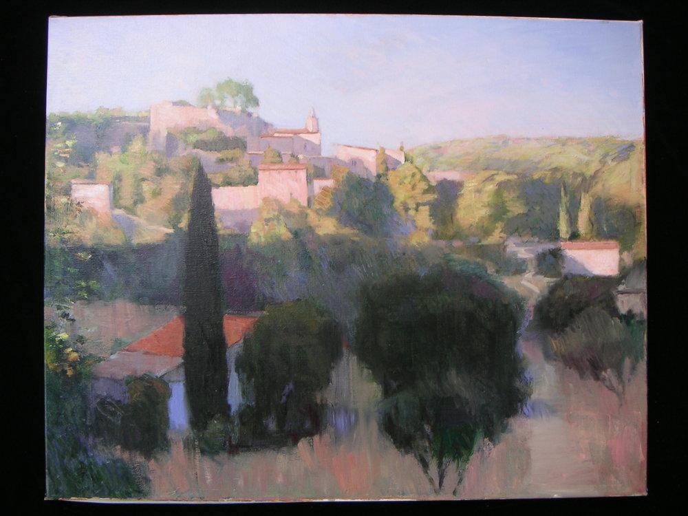 Provence Village Morning Light