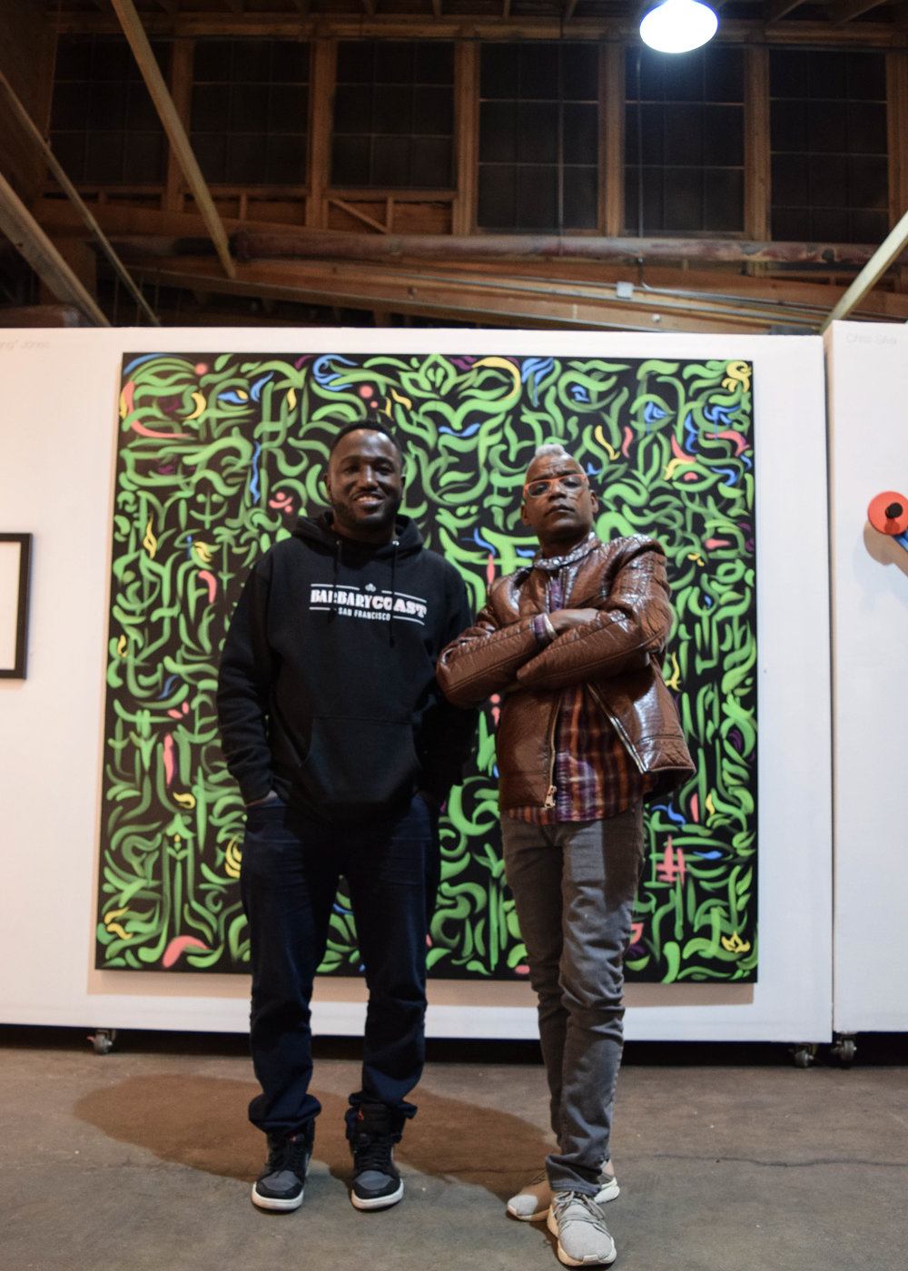 """A Hop, Jump and A Skip"" - - Art Exhibit (Ari's Art Space), 2018."