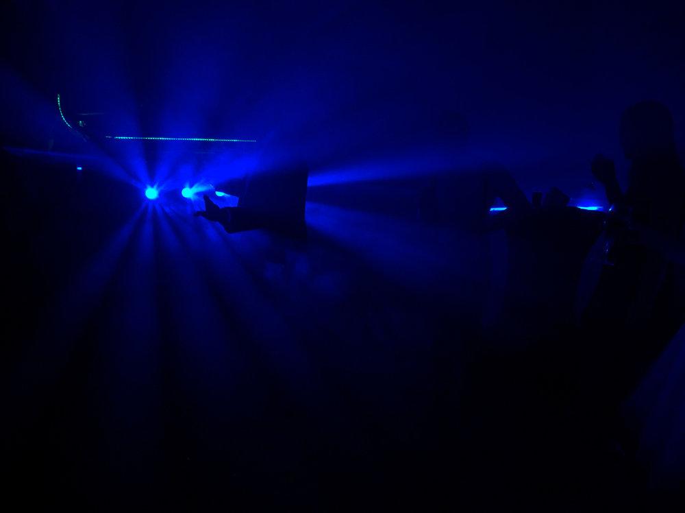 Dancing in the Dark ISO 6.400, f/4.5, 1/250-second exposure