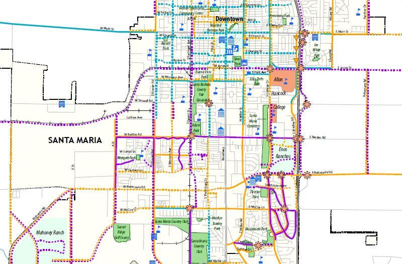 2009 bikeway plan map.JPG