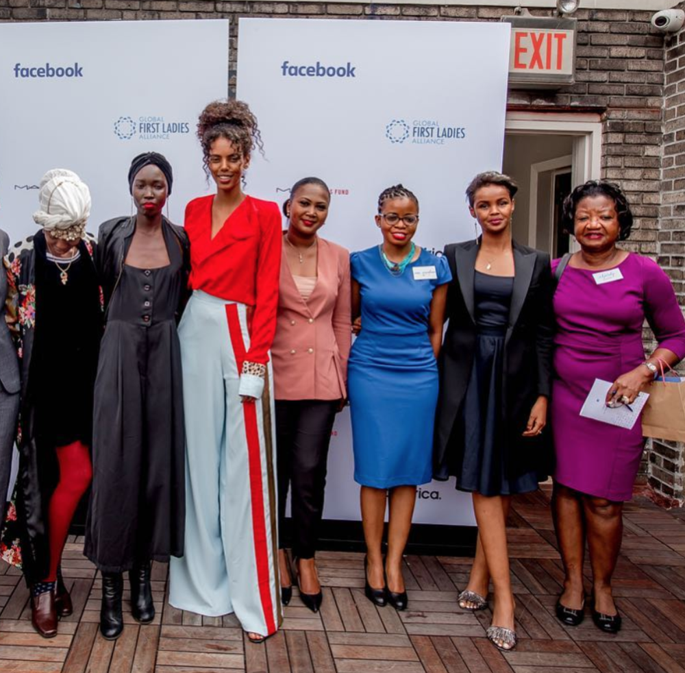 GLOBAL FIRST LADIES X FACEBOOK - PjT @ The Future of Women Facebook Live Panel