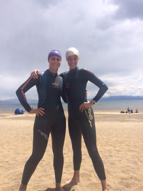 Training Swim in Tahoe