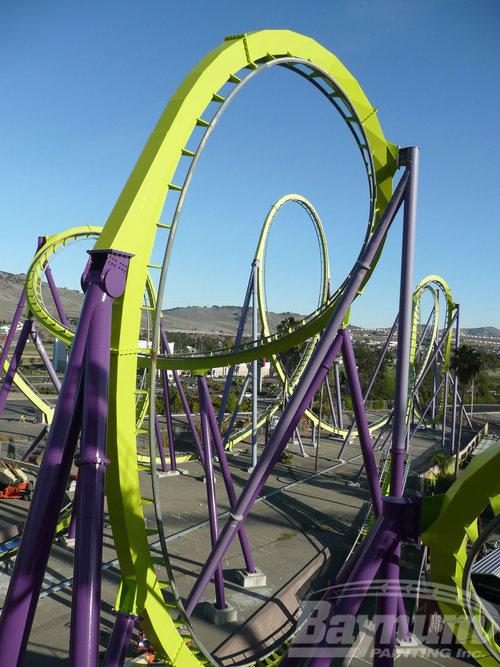 Amusement Rides — Baynum Painting