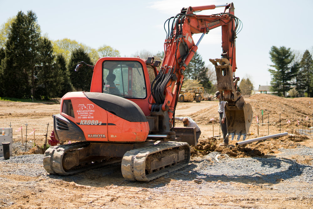 About - T&D Excavating & Paving is a family owned and operated business serving our local community for 37 years.