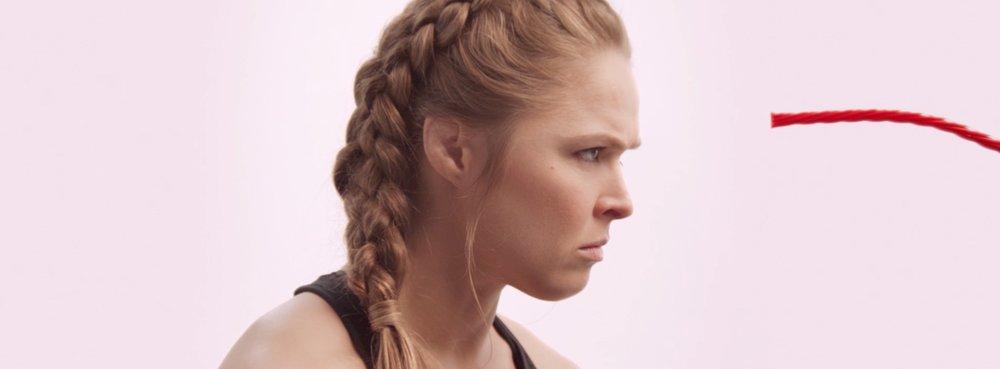 Twizzlers: Ronda Rousey -