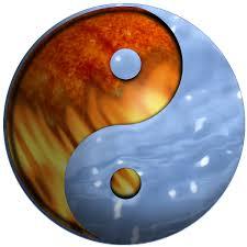 fire-water yin-yang symbol