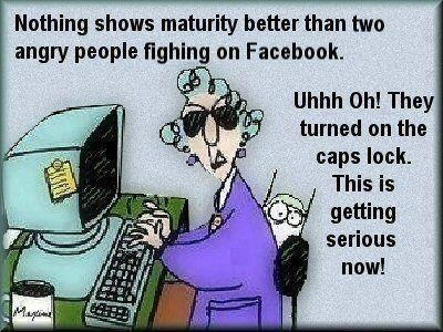 fb fight cartoon