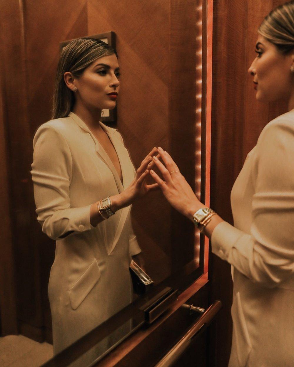 Pam Hetlinge r for Cartier | Photo by  Andrea Posadas