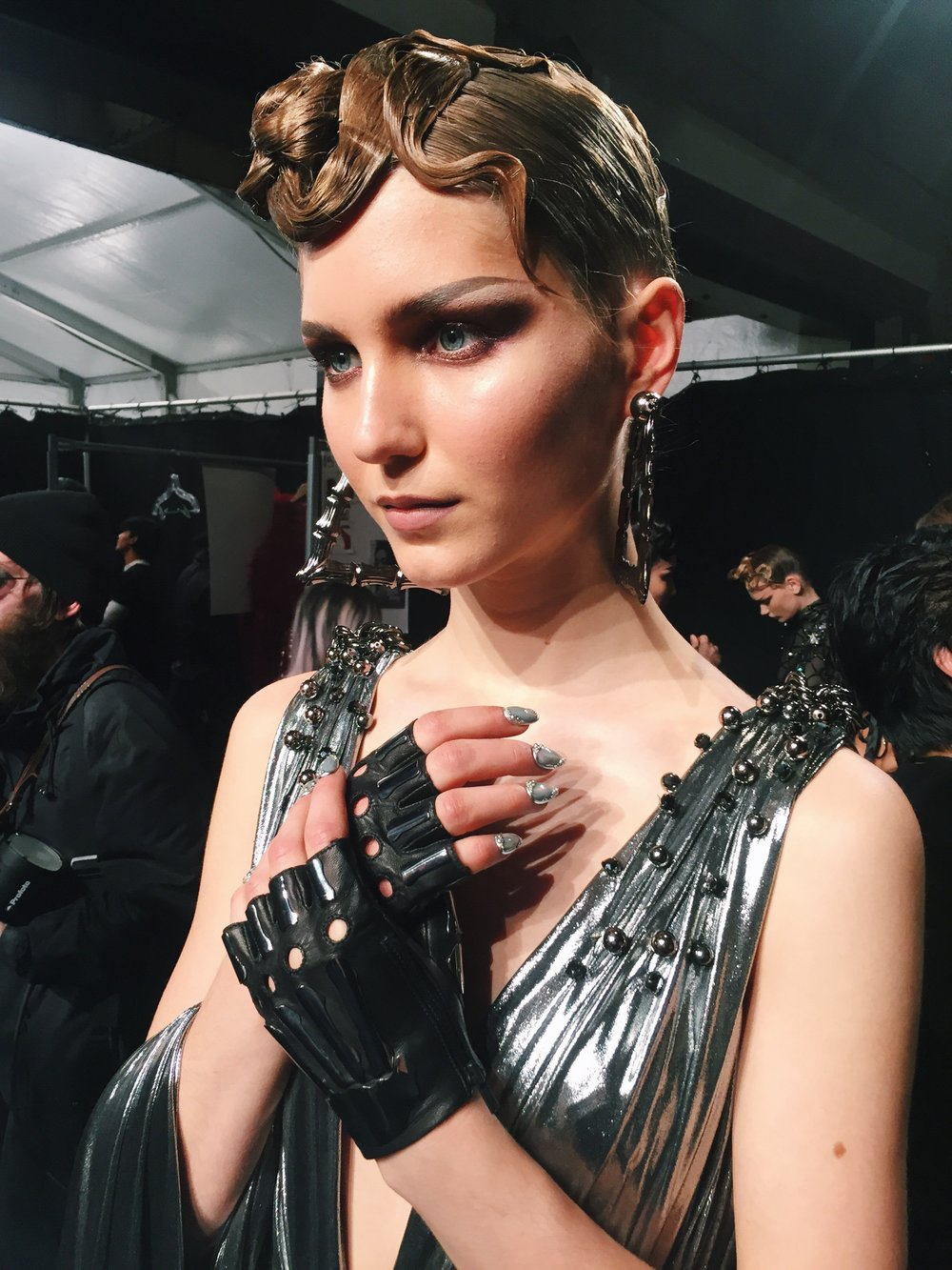 Key Hair by Kien Hoang for The Blonds