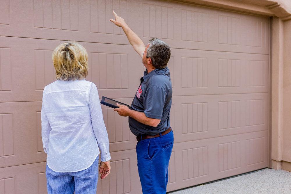 GARAGE DOOR REPAIR -