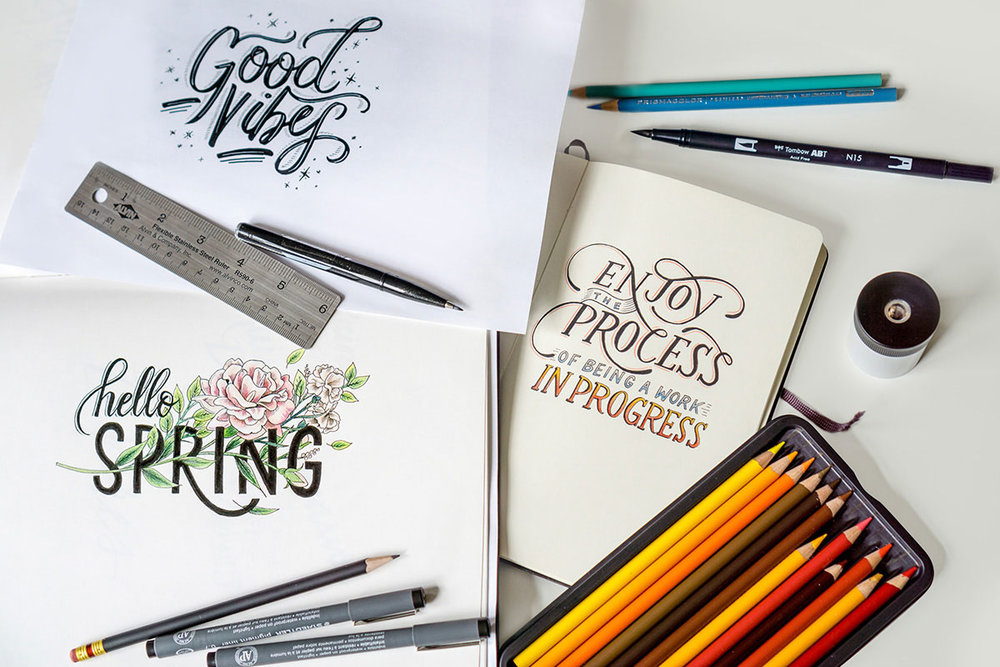 100-days-of-lettering-photograph