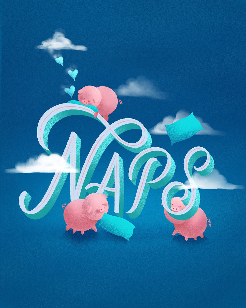 naps-and-pigs-lettering-illustration