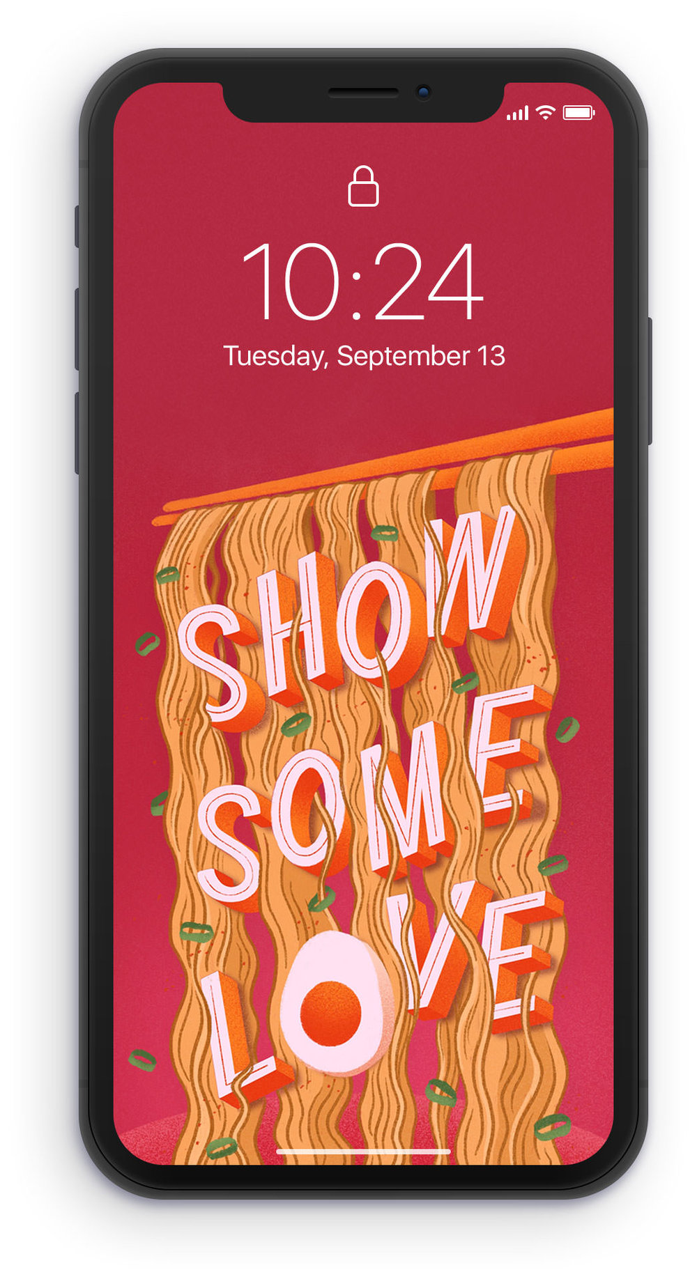 show-some-love-phone-wallpaper