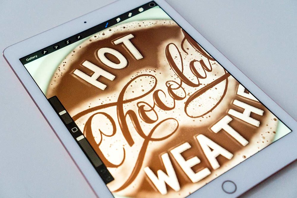 hot-chocolate-weather-lettering-illustration-process-ipad