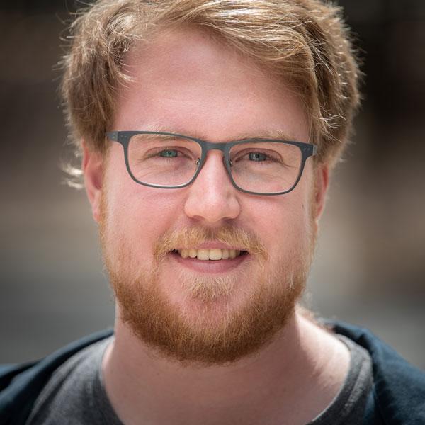 Keayn de Vries-Turnell(キィアン・ドゥブリス-タネル)  ITサポート、システム担当員 オーストラリア