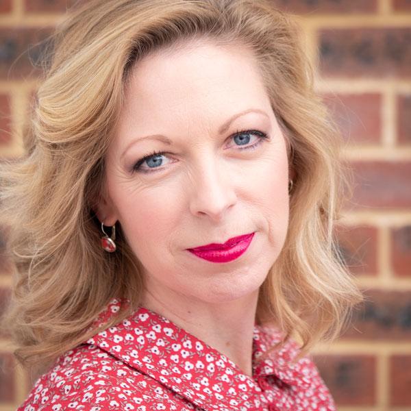 Kirsten Richardson  Samordnare för grafisk design och kommunikation Australien