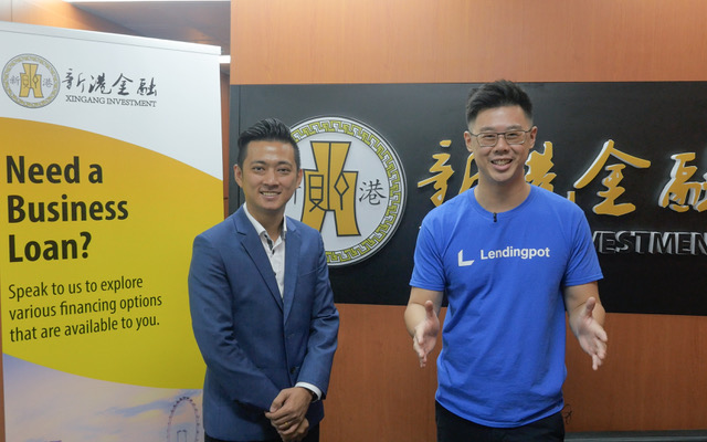 Eric with Darius Oh, Sales Director of Xingang Investment Pte Ltd.