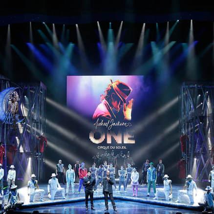 CIRQUE DU SOLEIL - MJ ONE